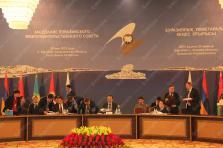 Заседание Совета Глав Правительств государств-участников СНГ